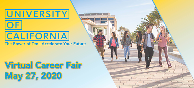 UC Wide Virtual Career Fair Banner
