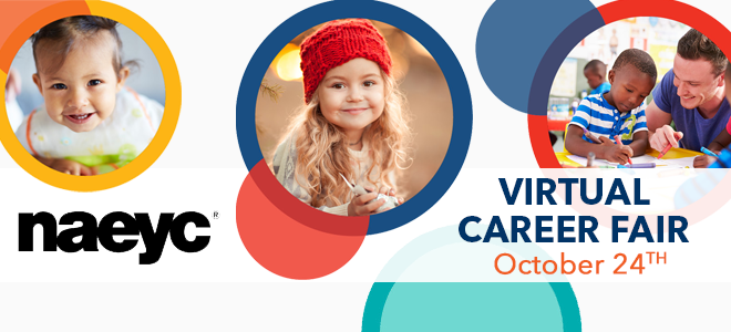 NAEYC Virtual Career Fair Banner