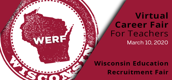 Wisconsin Education Recruitment Fair Banner