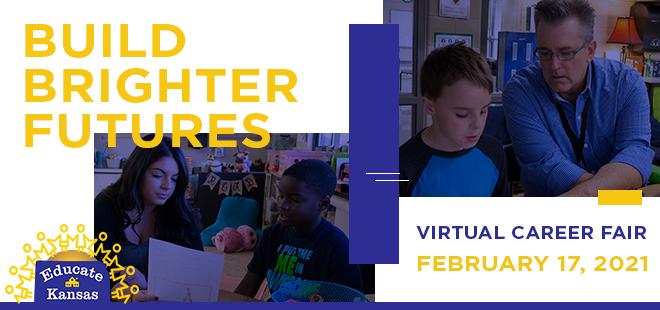 Educate Kansas Virtual Career Fair Banner