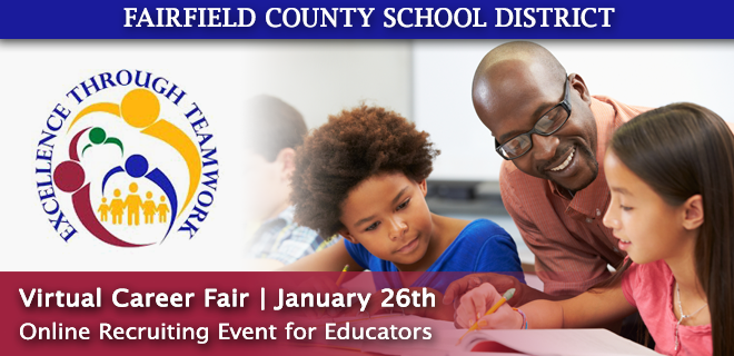Fairfield County Schools Virtual Career Fair Banner