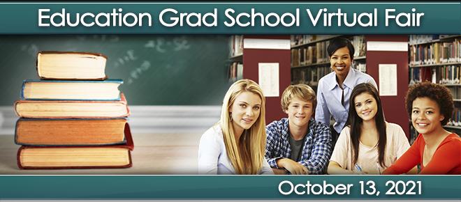 Education Grad School Virtual Fair Banner
