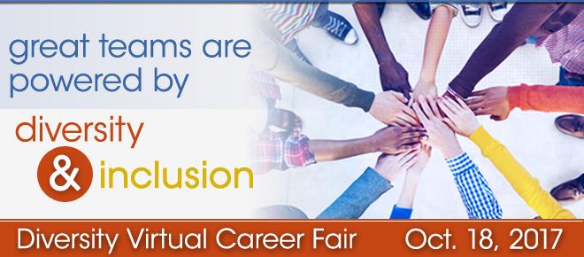 Diversity Virtual Career Fair Banner