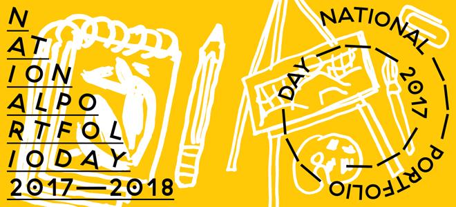 NPDA Grad School Online Portfolio Day and Information Fair Banner