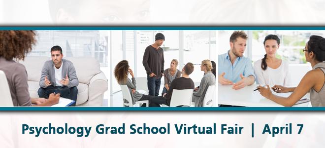 Psychology Grad School Virtual Fair Banner