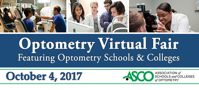 Optometry Virtual Fair Banner