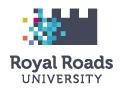 Royal Roads University logo - click to open web site