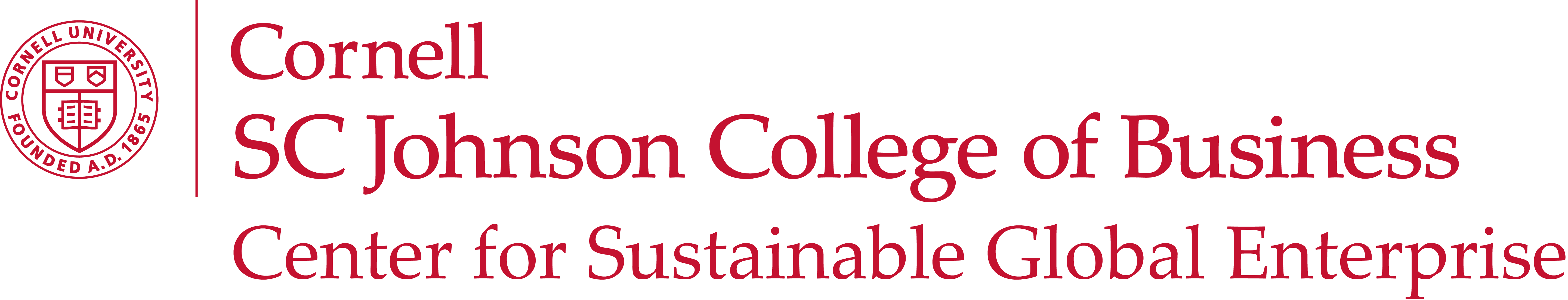 Cornell University Logo: Click to open university website