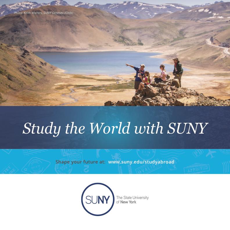 SUNY Study Abroad Brochure