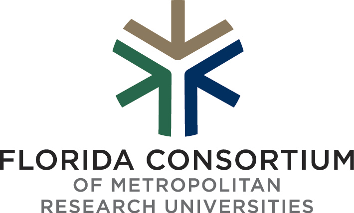 Florida Consortium of Metropolitan Research Universities Logo - click to learn more about the host schools