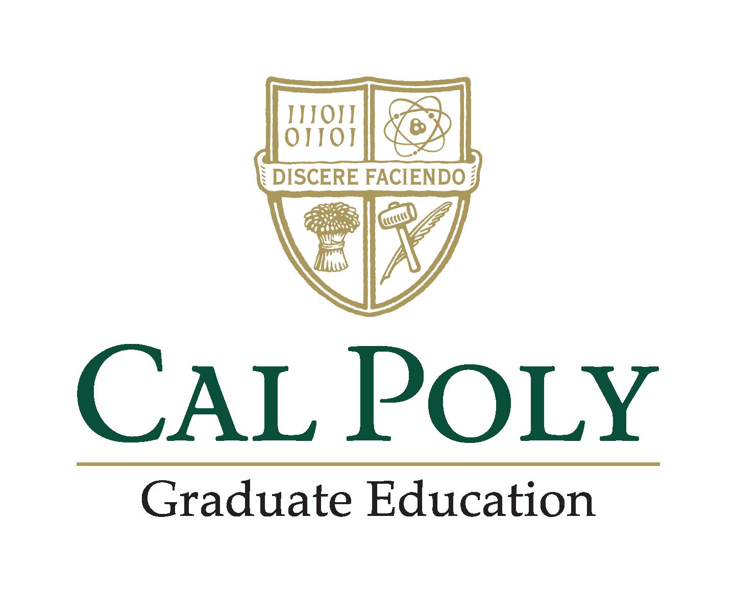Cal Poly Graduate Education Logo - click to go to their website