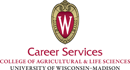University of Wisconsin-Madison College of Agriculture and Life Sciences Logo - click to go to school's website