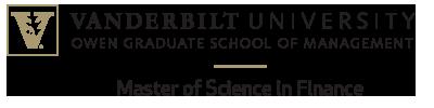 Website Sponsor - Vanderbilt Univ. Owen Grad School of Management - Master of Science in Finance - click to go to their website