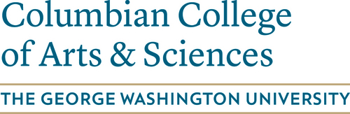 GWU Columbian Columbian College of Arts and Sciences logo - go to our websaite