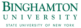 Binghamton University Logo: Click to open university website