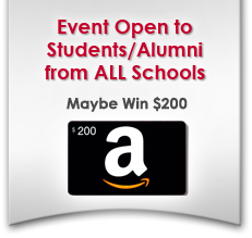 Event Open to Students/Alumni from ALL Schools - Maybe win $200
