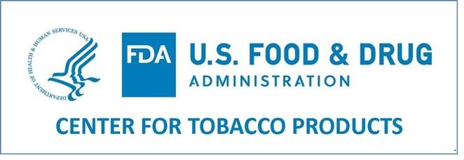 US FDA CTP logo - click to open web site