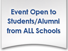 Event open to students/alumni from all schools